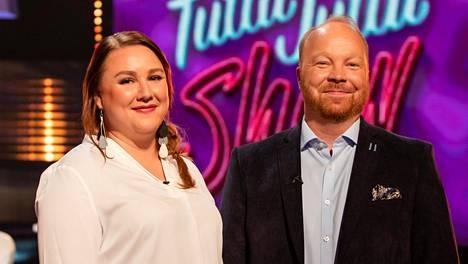 Ville ja Anniina osallistuivat Tuttu Juttu Show -ohjelmaan, jossa he selvittivät, kuinka hyvin he todella tuntevat oman kumppaninsa.
