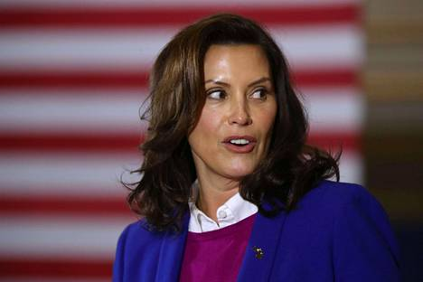 Michiganin kuvernööri Gretchen Whitmer.