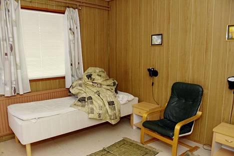 Epäiltyjen huone motelli On Linessä Porvoossa.