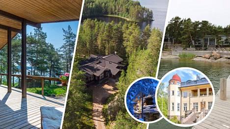 Muun muassa tältä näyttää Suomen kalleimmat vajaa-ajan asunnot.