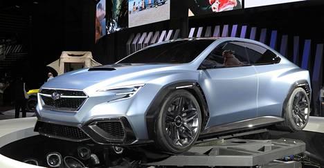 Subaru Viviz Performance Concept lupaa paljon ennustaen seuraavan sukupolven WRX-mallin tuloa. Toivottavasti Subaru ei petä tällä kertaa, sillä monet sen upeat tutkielmat ovat muuttuneet paljon tylsemmiksi tuotantoon päästessään.