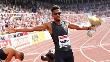 Abderrahman Samba on noussut 400 metrin aitajuoksun supertähdeksi yhdessä kaudessa. Sunnuntaina Samba juoksi Aasian ennätyksen 47,41 Tukholman Timanttiliigassa.