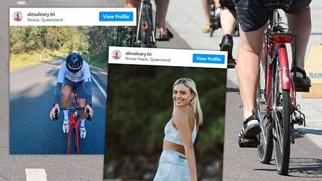 Vakava loukkaantuminen tapahtui Alexa Learyn isän mukaan, kun nuoren urheilijan pyörän rengas osui toisen pyöräilijän renkaaseen.