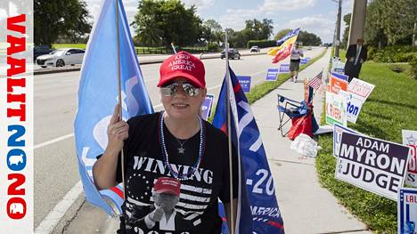 Carol Haan uskoo lujasti Donald Trumpin voittoon.