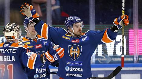 Tomas Zaborsky pelasi Tapparassa kaksi kautta ja ratkaisi keväällä joukkueelle SM-pronssimitalit.
