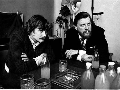 Heikki Kinnunen ja Leo Lastumäki vuonna 1970.