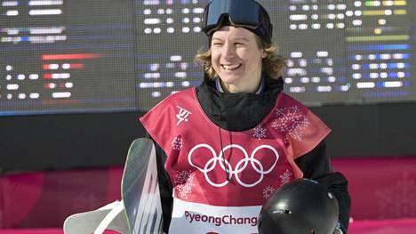 Kuva Pyeongchangin olympialaisista, joissa Rene Rinnekangas kilpaili big airissa ja slopestylessä.