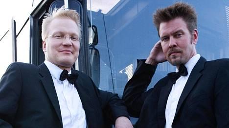 Jean S. -yhtye jatkaa yhä keikkailua, kertoo Timo Kärkkäinen (vas.). Tästä edespäin Kärkkäinen ja Antti Paavilainen (oik.) vaikuttavat eri yhtyeissä.