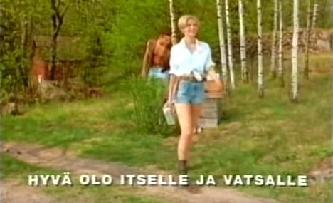 Piimämainos pyöri lähes jokaisen suomalaisen olohuoneessa vuonna 1993.