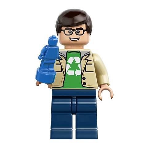 Leonard Lego-hahmona.