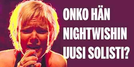 Ottaako Anette Blyckert Tarja Turusen paikan Nightwishissä? Fanien pitkä odotus päättyy viideltä.