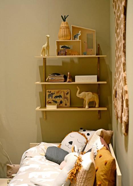 Ferm Livingin lastenhuoneen sisustusta ovat innoittaneet Afrikan eläimet.
