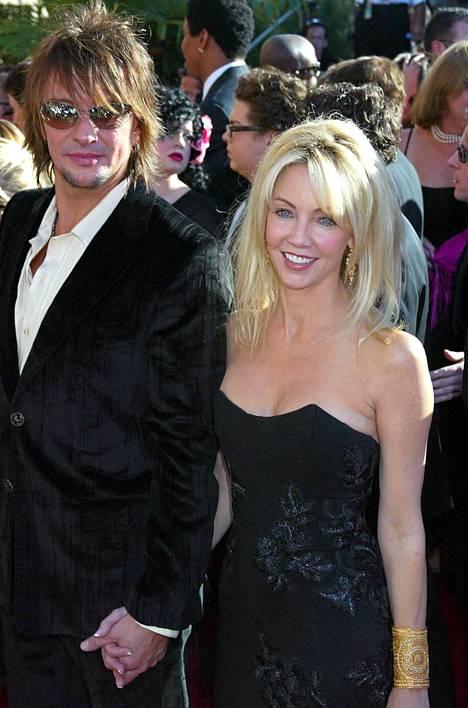 Richie Sambora ja Heather Locklear kuvattuna vuonna 2002.