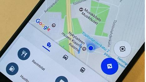 Googlen palvelut osaavat kertoa myös ravintoloiden ja nähtävyyksien ruuhkaisuudesta.