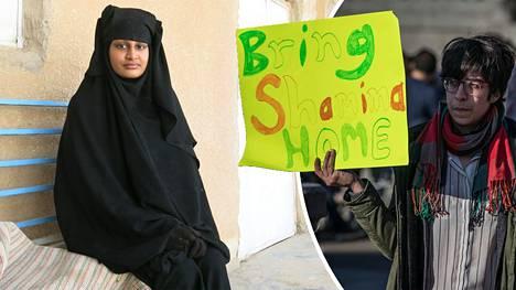 Shamima Begum menetti Britannian kansalaisuuden helmikuussa 2019.