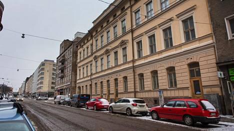 Naisen asuttama vuokra-asunto sijaitsi Helsingin Kalliossa.