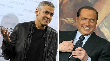 Miten George Clooney liittyy Silvio Berlusconin seksiskandaaliin?