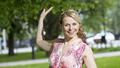 Susanna Heikki kruunattiin viime kesänä tangokuningattareksi.