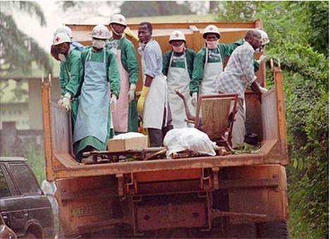 Zairessa oli Ebola-epidemia vuonna 1995.