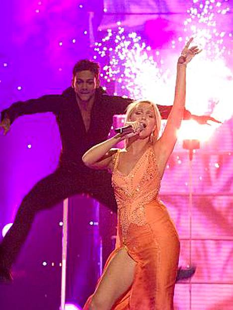 Kate Ryan muistetaan Désenchantée - ja Je tadore -hiteistään, joista jälkimmäisen hän lauloi Ateenan euroviisuissa vuonna 2006.
