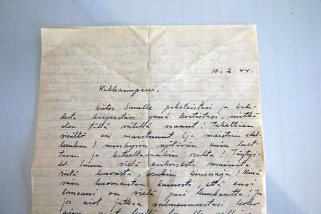 –kirjeet ovat aarteita. Ne kertovat sukuni historiasta, Maria Guzenina sanoo.
