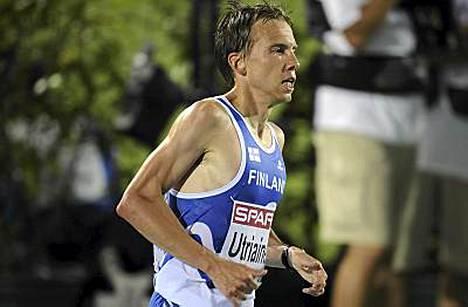 Jussi Utriainen sijoittui kovassa seurassa kolmanneksi.
