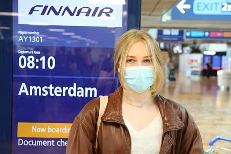 Jade suuntasi Amsterdamiin.
