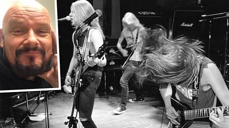 Hermanni Seppälästä tuli melkein rocktähti legendaarisen Stonesin basistina.