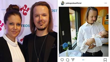 Jukka pojan ja Teija-vaimon ensimmäinen lapsi sai nimen.