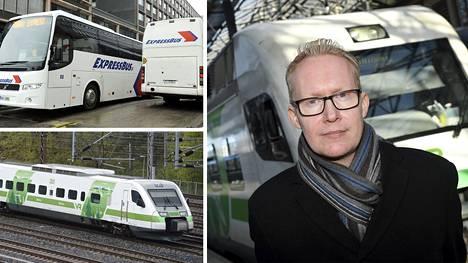 VR:n toimitusjohtaja Rolf Jansson ei näe Uudenmaan eristämisellä olevan suuria vaikutuksia junaliikenteeseen.