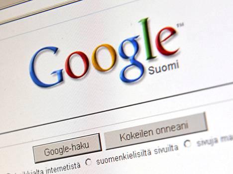 Googlen hakukone on muuttunut hienovaraisesti vuosien varrella. Kuva vuodelta 2009.