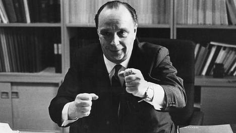 Veikko Vennamo vuonna 1967.
