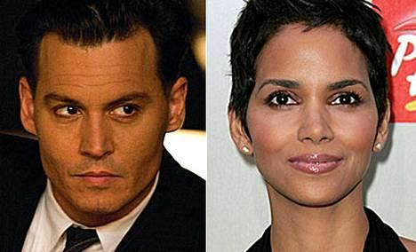 Näyttelijät Johnny Depp ja Halle Berry on valittu seksikkäimmiksi tähdiksi.
