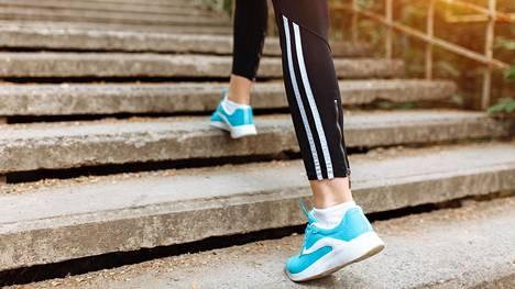 Puolen tunnin päivittäinen kävely kuluttaa tuhannen kilokalorin verran energiaa viikossa.