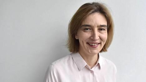 Helsingin yliopiston viestinnän professori Anu Kantola Helsingissä 8. marraskuuta 2018.