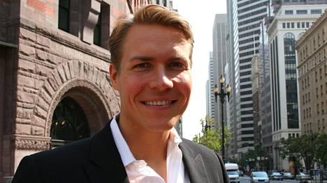Sami Inkinen kuvattuna San Franciscossa 2014.