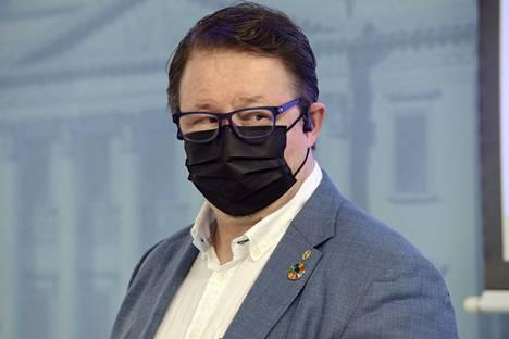 Terveyden ja hyvinvoinnin laitoksen (THL) johtaja Mika Salminen.