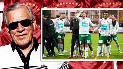 Anders Wiklöf pitää rahoituksellaan huolen siitä, että IFK Mariehamn pystyy jatkossakin taistelemaan Veikkausliigassa.