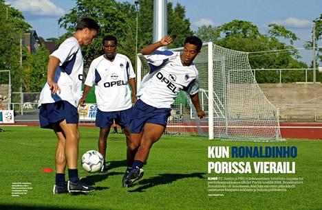 PSG:n Porin-reissua muisteltiin Urheilulehden numerossa 20/20.