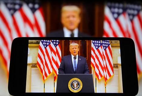 Donald Trump ei ole hyväksynyt vaalien häviämistä.