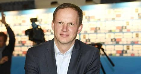 Matti Nurminen on Jääkiekkoliiton toimitusjohtaja.