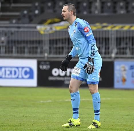 Oskari Forsman on torjunut luotettavasti IFK:n maalilla kolmen kauden ajan.