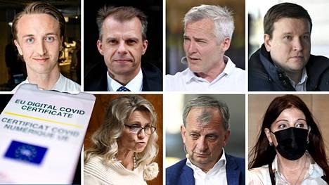 Eduskuntaryhmien puheenjohtajat ottivat kantaa kansalliseen koronapassiin ja koronarajoitusten mitoittamiseen.