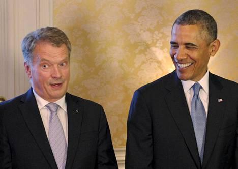 Sauli Niinistö tapaa Barack Obaman toukokuussa.