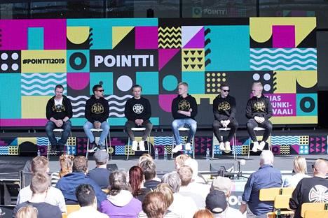 ENCEn CS-joukkue vieraili perjantaina Pointti-kaupunkifestivaalilla.