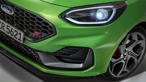 Fiestasta on moneksi. 200-hevosvoimainen ST edustaa tehokkainta versiota.