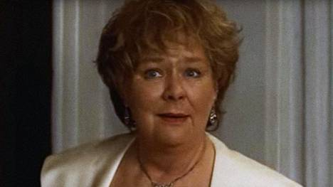 Mona Malm Den tatuerade änkan -elokuvassa vuonna 1998.