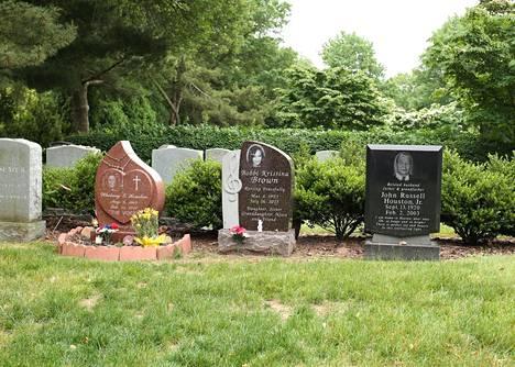 Bobbi Kristina haudattiin äitinsä Whitney Houstonin ja isoisänsä John Russell Houston Jr.:n viereen.