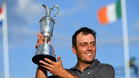 Italialaista golfhistoriaa: Francesco Molinari voitti British Openin