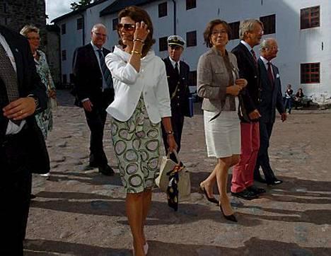 Kuningatar Silvia hurmasi jälleen.